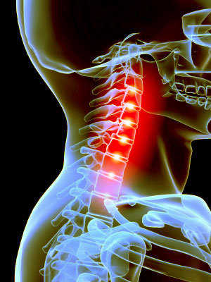 El dolor a la inclinación de la espalda atrás